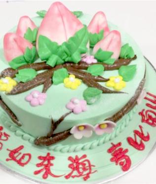 design cakes - Garden Design Birthday Cake