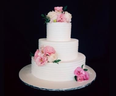 Wedding Cake 3 Tier 4 8 12